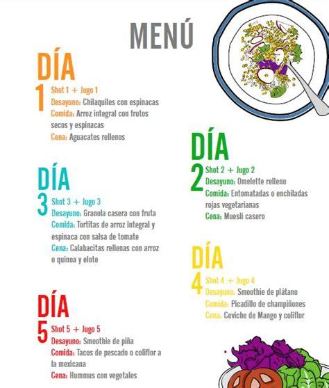 Dieta Detox 3 Dias Menu by 1000 Images About Dietas On Sons Manual
