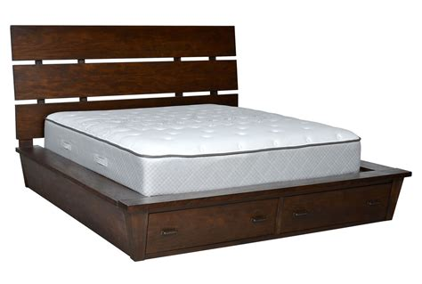 Livingston California King Storage Bed Living Spaces