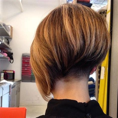bob haircuts nape asymmetrical bob with short nape undercut short bob cuts