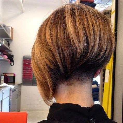 haircut short nape asymmetrical bob with short nape undercut short bob cuts