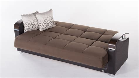 contemporary futon sofa convertible sofa sleeper with storage www energywarden net