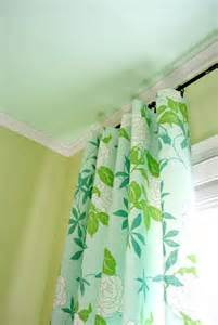 Green Curtains For Nursery Curtains With Wall And Ceiling Color Decorating Etc Pinterest