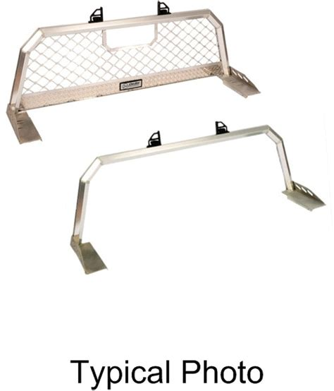 Sliding Ladder Rack by Deezee Aluminum Headache And Ladder Rack With Sliding Load
