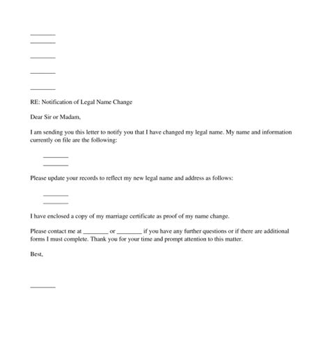 change of address notification letter template change of address notification template notification of
