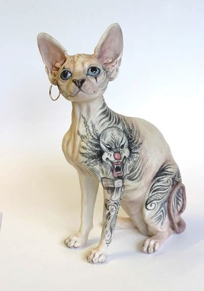 sphynx cat tattoo fun animals wiki videos pictures
