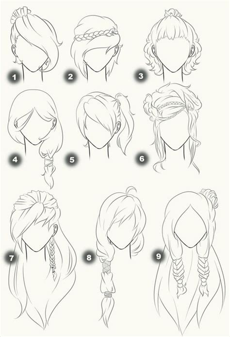 anime hairstyles diy les 25 meilleures id 233 es de la cat 233 gorie manga sur