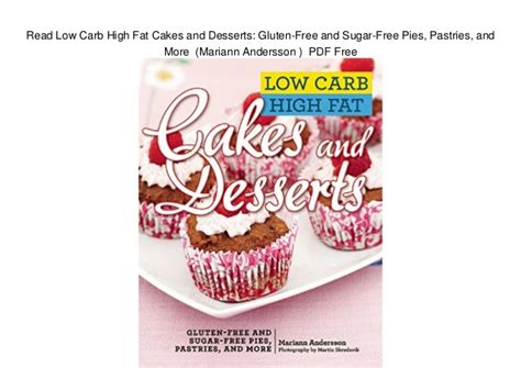 Pdf Complete Low Carb Cookbook Best Presents by High Cake