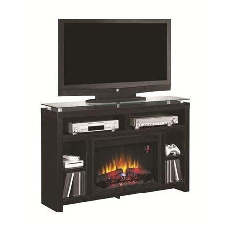 Modern Black Fireplace by Fireplaces Black Media Console Fireplace