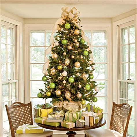 decorated christmas trees 2012 southern living