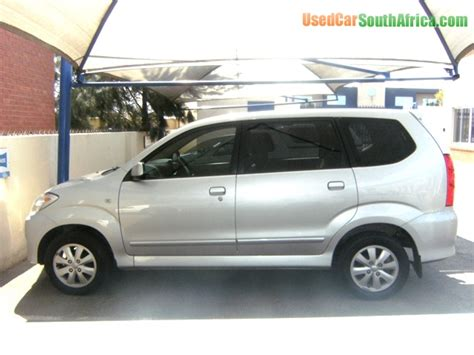 Toyota Avanza For Sale South Africa 2007 Toyota Avanza Tx 1 5 Vvti Station Wagon 7seater