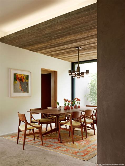 casual dining room ideas by marmol radziner dining room