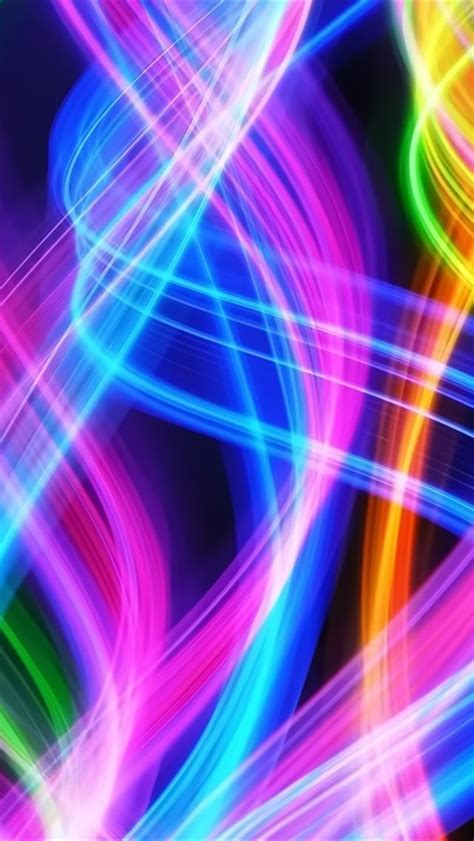 colorful wallpaper iphone 4 colorful spirals iphone 5 wallpapers hd 640x1136