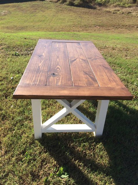A Farm Table by Farmhouse Table Farm Table And Bench Wood By