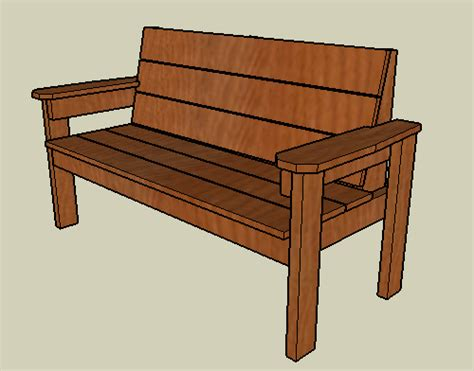 plans outdoor wood bench designs  tool
