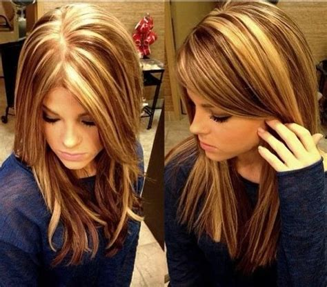 Hair Color Ideas Highlights Lowlights | copper hair color ideas with highlights and lowlights