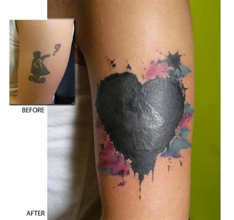cover up heart tattoo designs cover up tattoos best ideas 2014