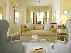 Yellow Grey And Beige Living Room Living Rooms Cb2 Peekaboo Clear Coffee Gold 色に