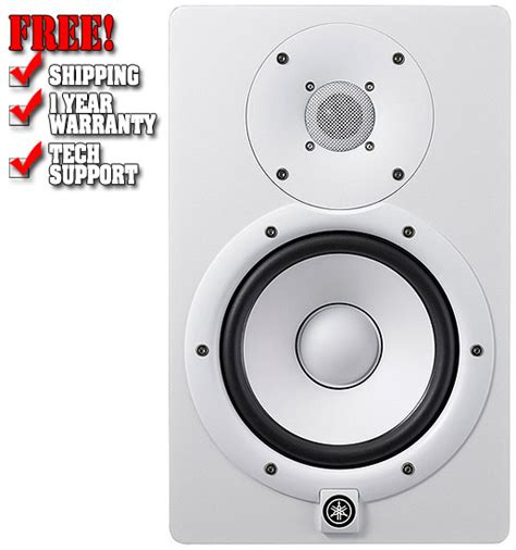Speaker Yamaha Hs7 yamaha hs7 white powered studio monitor