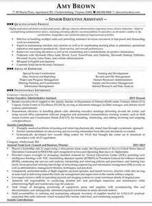 senior executive resume template the world s catalog of ideas