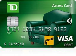Td Bank Online Gift Card - access card td canada trust