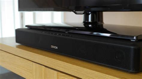 best soundbase denon dht t100 speaker base review avforums