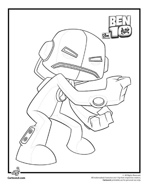 coloring pages ben 10 coloring home