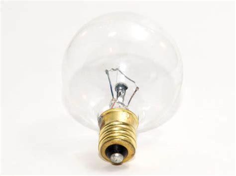 130v 40w light bulbrite 40w 130v g12 clear globe e12 base 40g12cl