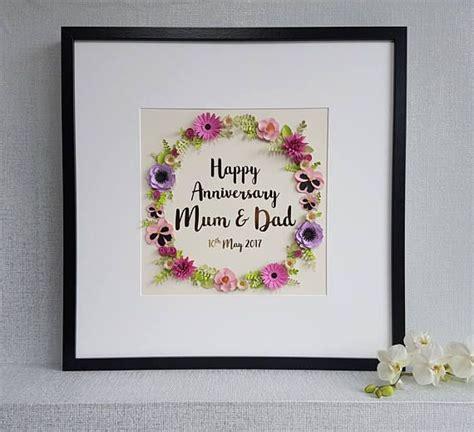 Wedding Anniversary Present Ideas For Parents by 25 Best Anniversary Gifts For Parents Ideas On