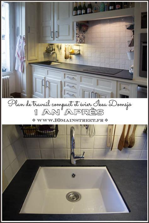 Evier Ceramique Ikea by Gallery Of Plan De Travail Compact Et Vier Ikea Domsj An