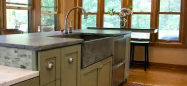 Kitchens With Concrete Countertops - get stoned 11 incredible kitchen sinks made from rock
