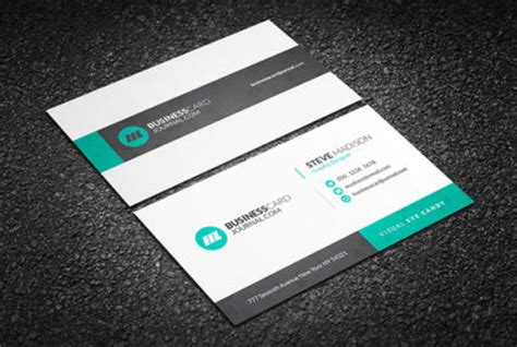 Free Business Card Templates By Businesscardjournal Com Corporate Business Card Templates Free