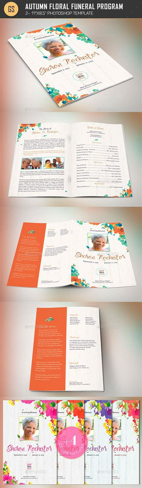 informational brochure template 417 best images about best creative funeral program