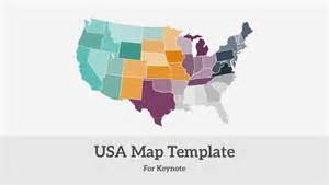 usa map template usa map presentation template improve presentation