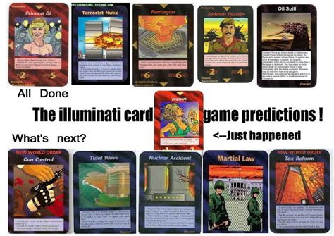 illuminati cards 1995 illuminati card created in 1995