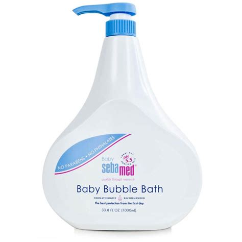 Sebamed Bath 1 Liter bath for babies with a sensitive skin sebamed usa