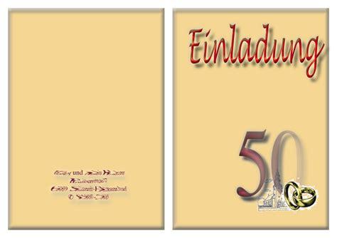 Einladung Zur Goldenen Hochzeit by Einladung Goldene Hochzeit Christoph Schirra It Design