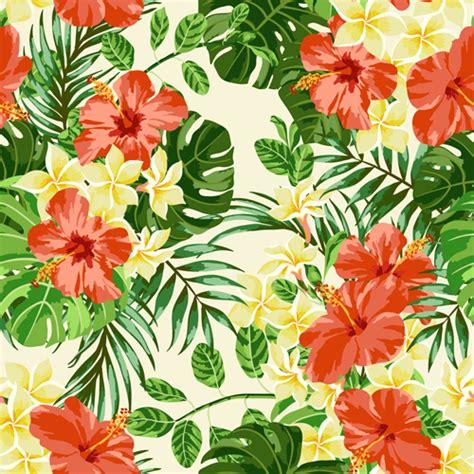 pattern flower vintage vector vintage flowers vectors seamless pattern 02 vector