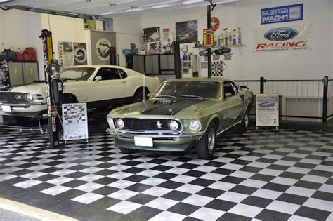 Garage Usa Garage Floor Coverings Coin Beige Made In The Usa Ebay