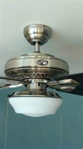 Gazebo Outdoor Ceiling Fans by Hampton Bay Gazebo 52 Quot Outdoor Brushed Nickel Ceiling Fan