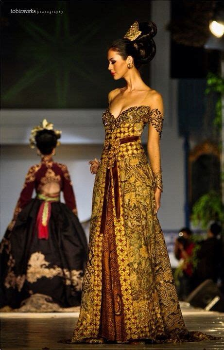 Kebaya Dress Batik Fuschia pin by suci icus on wedding dress kebaya batik fashion and gowns