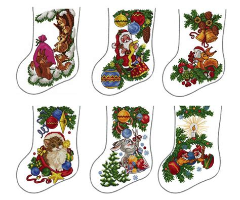 embroidery patterns for christmas stocking abc designs 6 christmas stockings machine embroidery