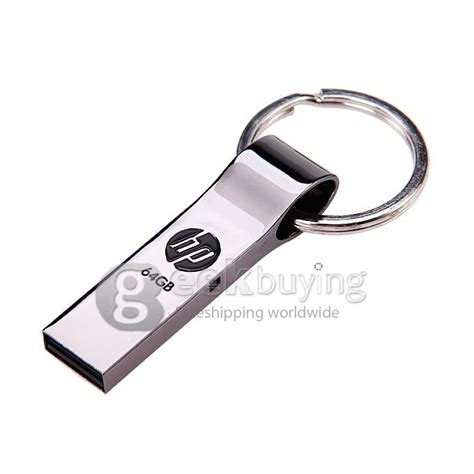 Flashdisk Key Silver 8gb hp v285 usb 2 0 64gb flash drive u disk memory stick usb drive