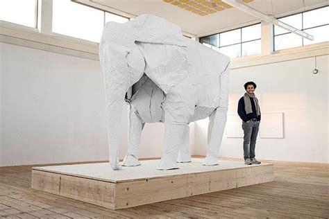 White Elephant Origami - sipho mabona elephant origami