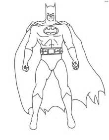 coloriage batman facile