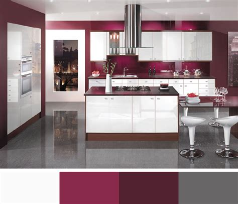 Kitchen Designs Colours Interior Colors Interior Color Schemes Interior Design Color Scheme Maroon Kitchen