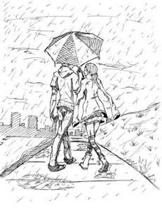 birthday commision rain couple by krnghost on deviantart
