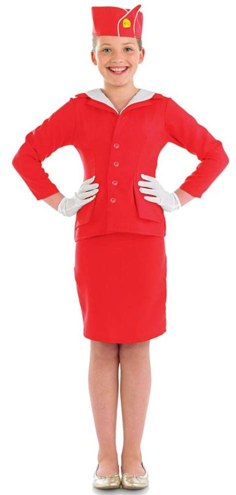 How To Dress For Cabin Crew by Stewardess Costume In By Shack 3642