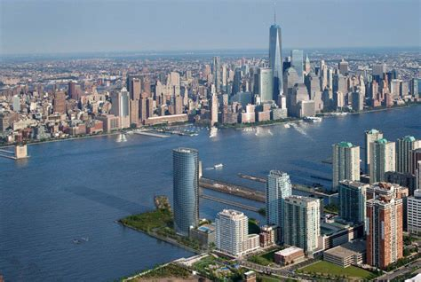 Jersey City New skyline wars new jersey s waterfront transforms with a