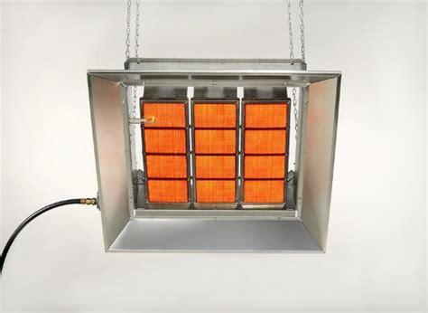sunstar sg10 100k btu infrared radiant nat gas heater