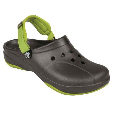 ace hardware safety shoes crocs men s ace boating clogs west marine